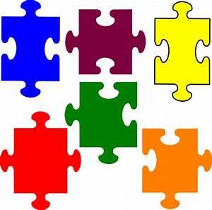 Jigsaw Puzzle Clip Art at Clker.com - vector clip art ...
