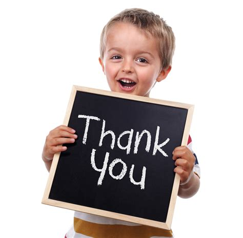 Saying Thankyou  Teach Kids Life Skills