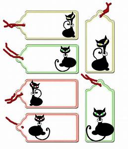 Clever Cat Tags To Print