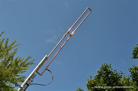 2 meter a way slim jim antenna kb9vbr j pole antennas