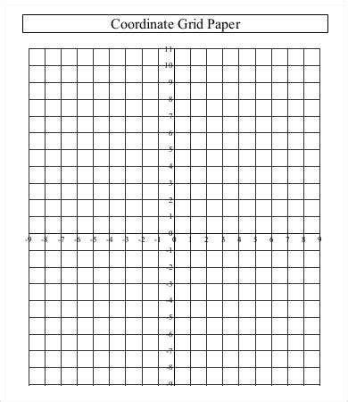 printable grid paper template   word