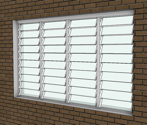 altair sl louvre window design content