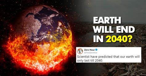 earth 2040 end might responsible organisation companies zero hour says rvcj baba vanga predictions space