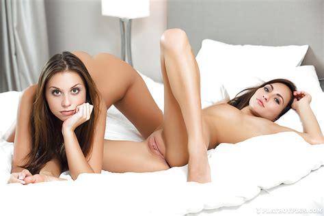 Hot Centerfold Models Michaela Isizzu And Sabrisse Go