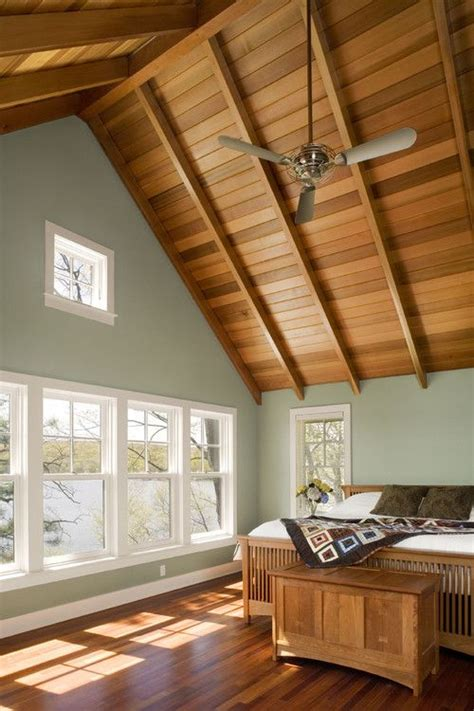 25 best ideas about painted wood ceiling on