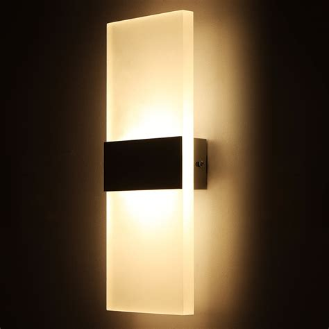 led wall lights indoor modern led wall l for kitchen restaurant living bedroom