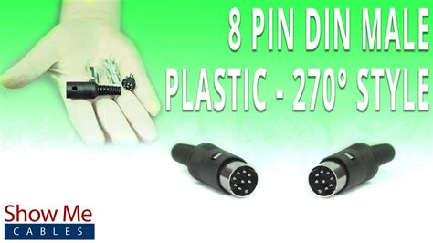 8 Pin Connector Wiring Diagram by How To Install The 8 Pin Din Connector 270 Degree