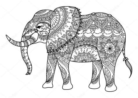 Mandala Kleurplaten Olifant by Mandala Olifant Lijntekeningen Stockvector 169 Somjaicindy