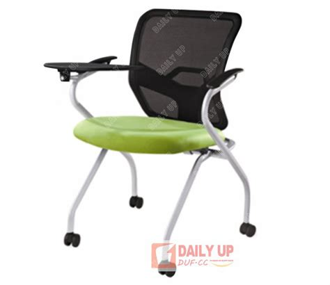 mesh cushion school chair with casters office staff