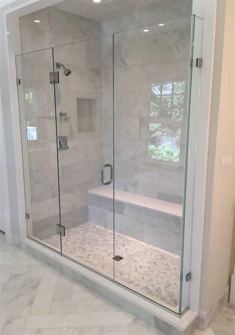 frameless glass shower enclosures frameless shower doors river glass designs md dc va