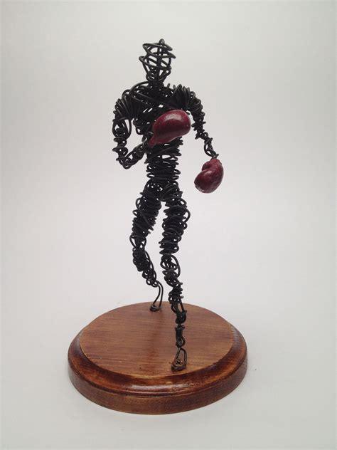 Boxer - Wire Sculpture Study - Frank Marino Baker - Drip ...