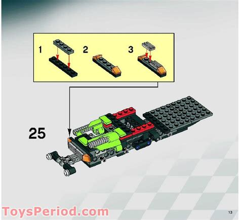 lego 8141 road power set parts inventory and
