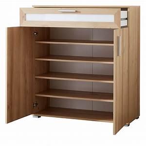 Meuble à Tiroir : soldes meuble chaussures 18 paires 2 portes 1 tiroir ~ Melissatoandfro.com Idées de Décoration