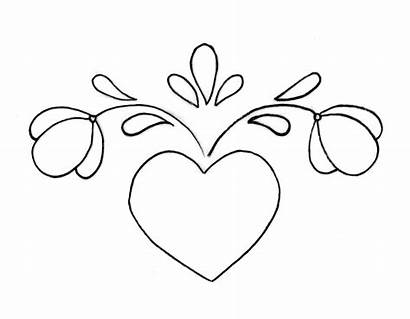 Heart Wood Stencils Burning Patterns Beginners Pattern