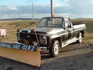 1979 Scottsdale 3  4 Ton 4x4  Long Bed W  Meyer Poly Plow