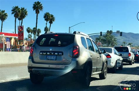 Renault Duster Usa by Renault Duster Spotted On California Streets Industry