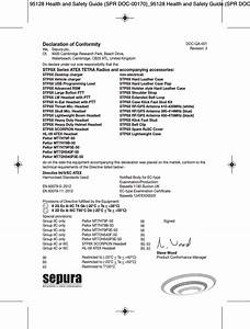 Sepura Plc Sc2024 Tetra Terminal With Bluetooth User