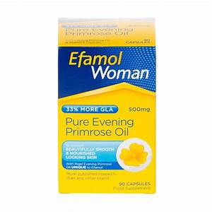 Review Of Efamol Woman Pure Evening Primrose Oil