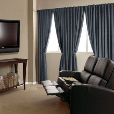 absolute zero velvet blackout home theater curtain panels