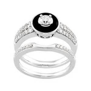 onyx wedding ring and onyx engagement ring part of wedding ring set