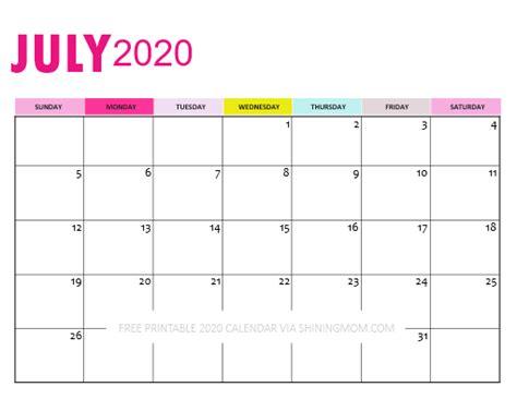 Downloadable Calendar 2020: So Pretty in Pink!