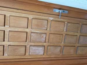 repeindre ou revernir une porte d39entree en bois With repeindre une porte en bois