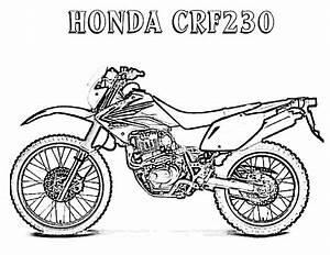 honda motorbikes coloring pages With honda mini bikes