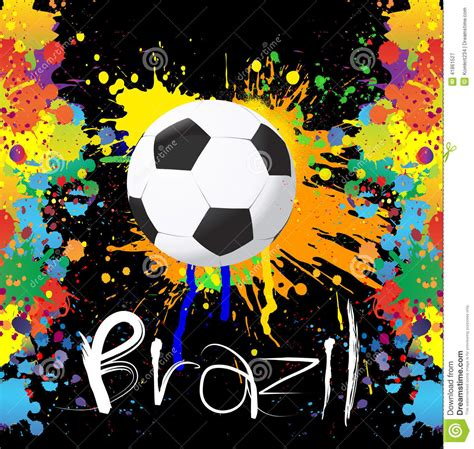 what time is world of color football world cup with paint splash color stock vector