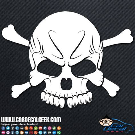 cool vinyl stickers cool skull vinyl car window decal sticker