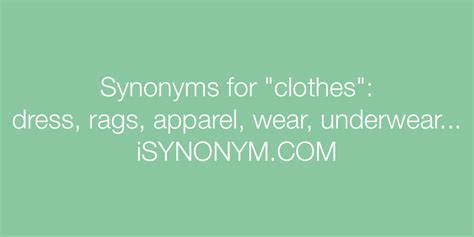 synonyms  clothes clothes synonyms isynonymcom