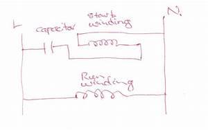 Single Phase Motor Capacitor Start