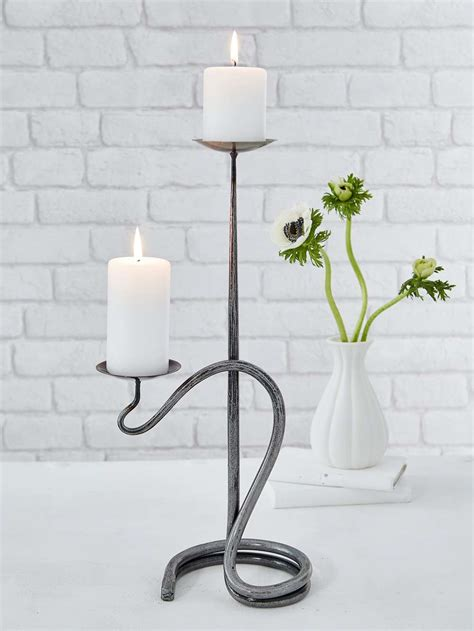 Candle Holders by Artisan Candle Holder Wrought Iron Candle Holder