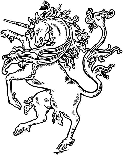 Pin by Michelle Orzoff on unicorn coloring pages | Unicorn coloring pages, Unicorn tattoos