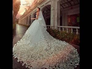 Top 50 latest most beautiful wedding bridal dresses in the for The most beautiful wedding dresses in the world