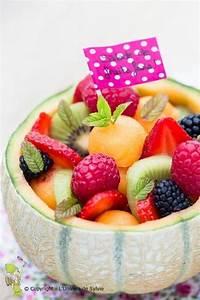 Assiette à Dessert Originale : id e originale de salade de fruits pour le dessert ou le go ter fruit salade dessert gouter ~ Teatrodelosmanantiales.com Idées de Décoration