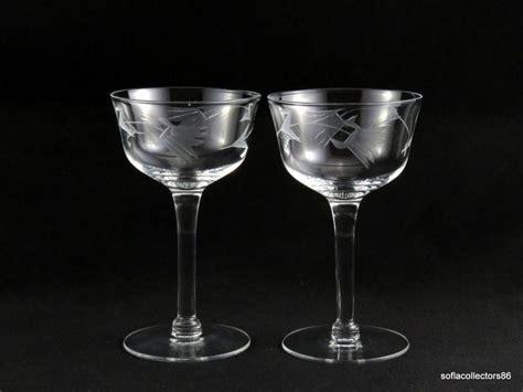 214 Best Vintage Elegant Stemware-cordials, Cocktail, Wine