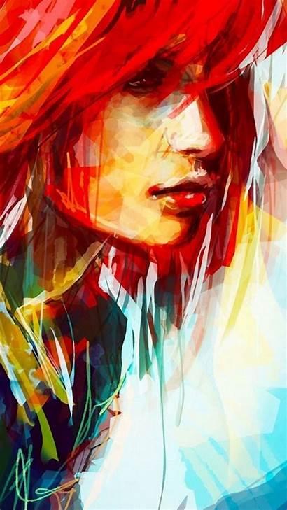 Portrait Wallpapersafari Wallpapers Backgrounds Painting Brush Hayley