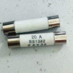 NEW! PACK OF 3 LJS16 Vollschutz Type LJS Ceramic Fuse 16 Amp 500V