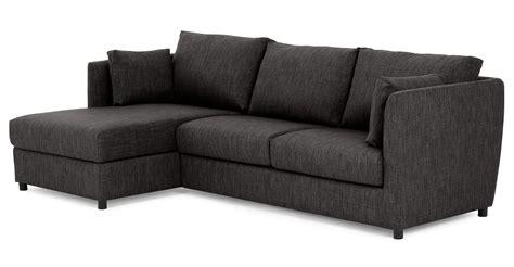 Milner Left Hand Facing Corner Storage Sofa Bed With
