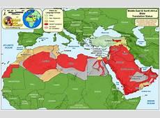 Middle East North Africa WORLDMAPORG
