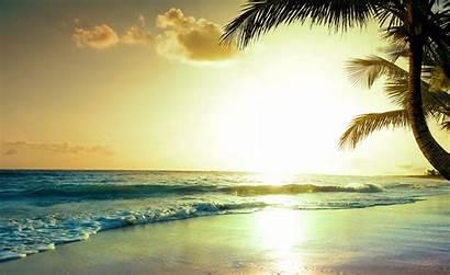 4k Tropical Beach Sunset Paradise Nature Wallpapers