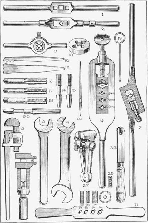 metalworking tools    fig  continued