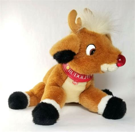 In order to improve our community experience, we are temporarily suspending article commenting. Rudolph The Red Nosed Reindeer Plush Music Light Up Nose ...