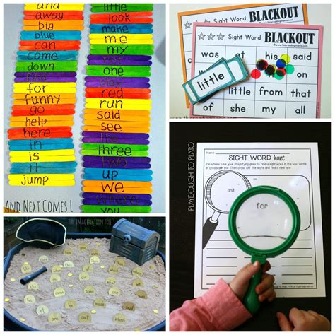 25 sight word playdough to plato 383 | Tons of awesome sight word games for kids