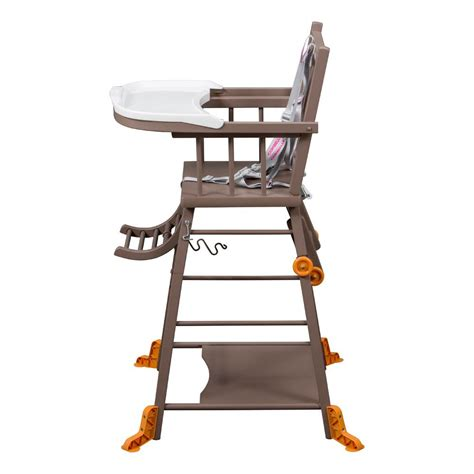 chaise haute bébé combelle chaise haute transformable laqué taupe combelle design bébé