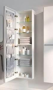 Ikea Salle De Bain Rangement : le rangement en colonne optimise la petite salle de bain ~ Teatrodelosmanantiales.com Idées de Décoration