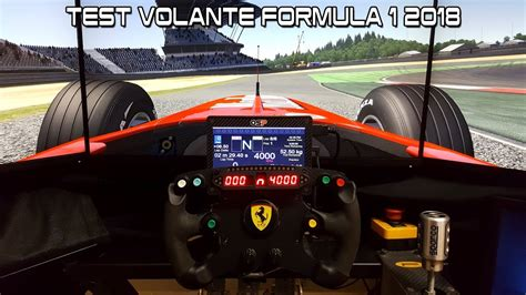 volante f1 pc test volante f1 2018 nurburgring 2002