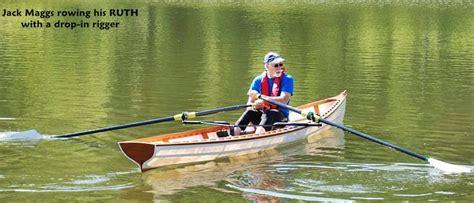 skin  frame rowing wherry  beautiful  boat