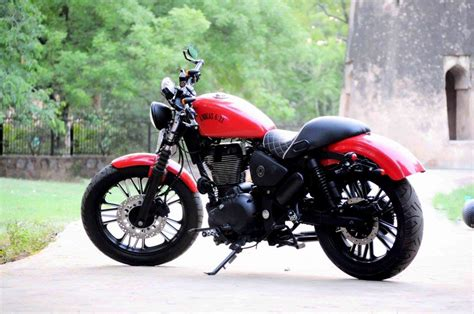 Modified Bikes Showroom In Delhi by Royal Enfield Thunderbird Abdias 6 33 With All Digital