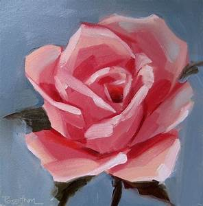 Simple Rose Painting | Art & Artists | Pinterest | Simple ...